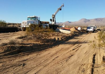 Harvey Field Water Main Repair, Naval Air Station China Lake Phases I & II