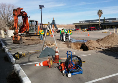 Design-Build Repair Sewer Mains Marine Corps Logistics – Base Barstow, CA
