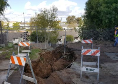 Design-Build Burroughs Street Emergency Storm Drain Repair – San Diego, CA