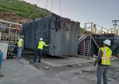San Clemente Island Clarifier Demolition and Replacement – San Clemente Island, CA