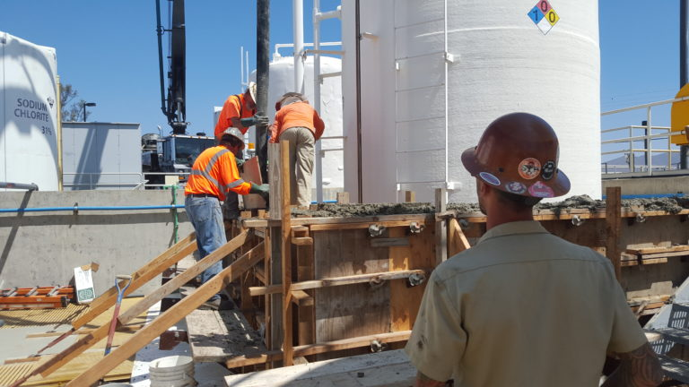 Design-Build Otay Water Treatment Plant Sodium Hypochlorite Disinfection System Upgrade – San Diego, CA