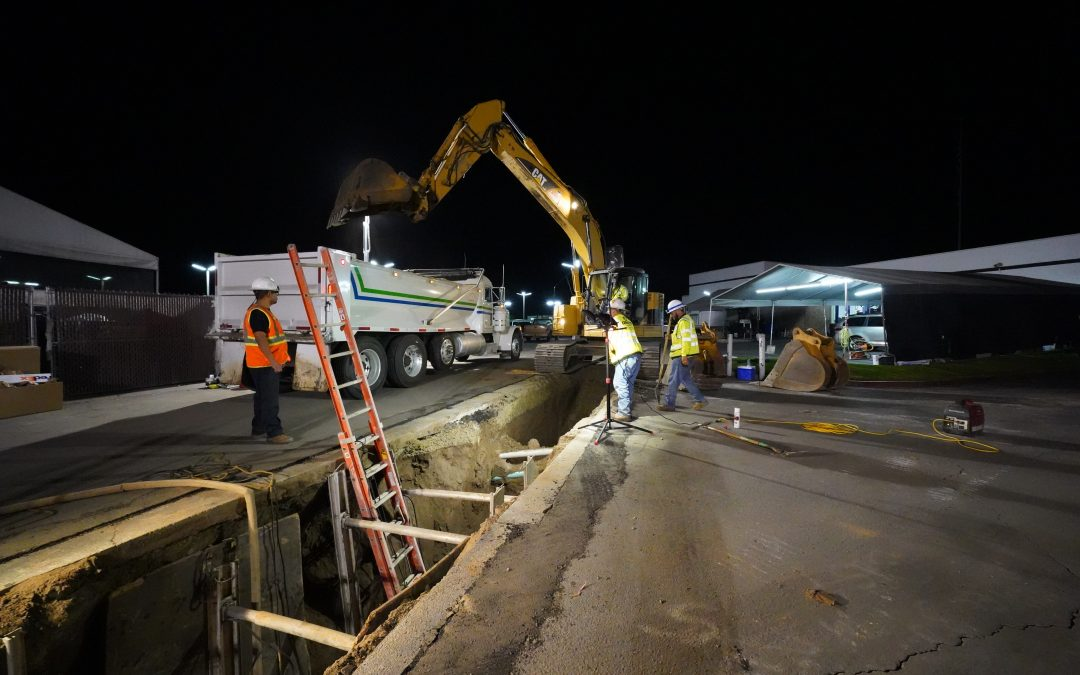 Orion Completes Hale Avenue Emergency Sewer Repair