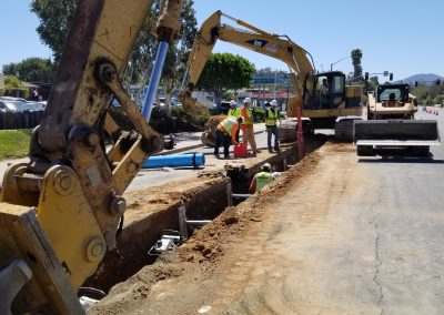 Helix Water Potable Water Main Project – San Diego, CA